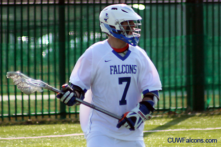 Larsen's career game propels Men's Lacrosse to third straight win