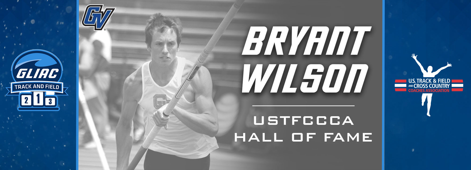 Former GVSU Laker, Bryant Wilson Inducted Into the USTFCCCA Hall of Fame