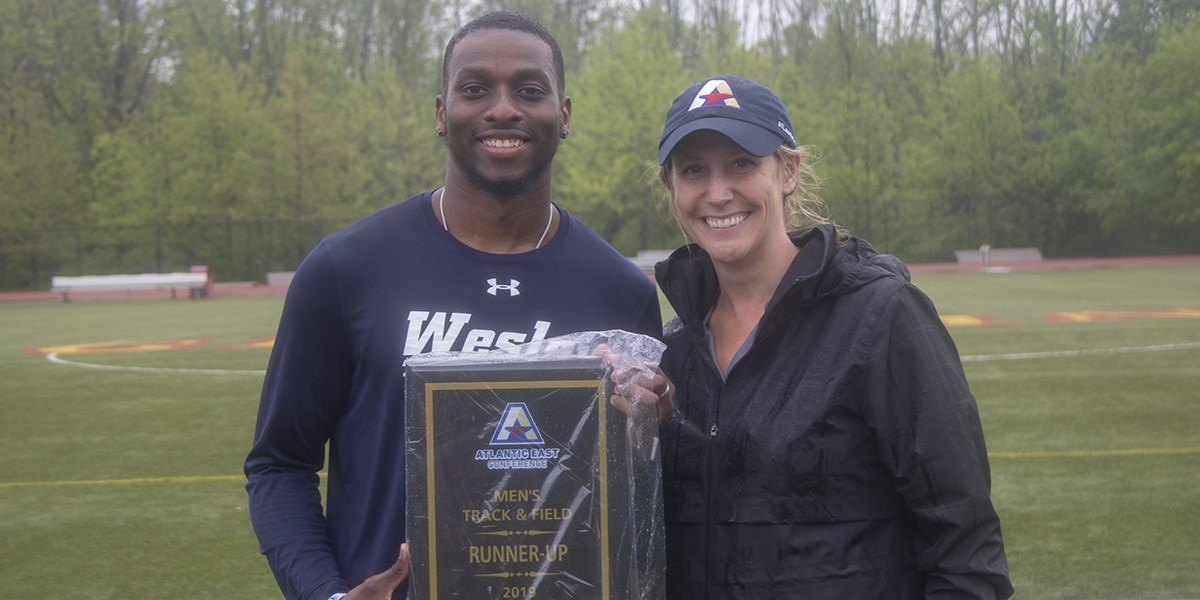 Men's Track & Field places second at Atlantic East Championships