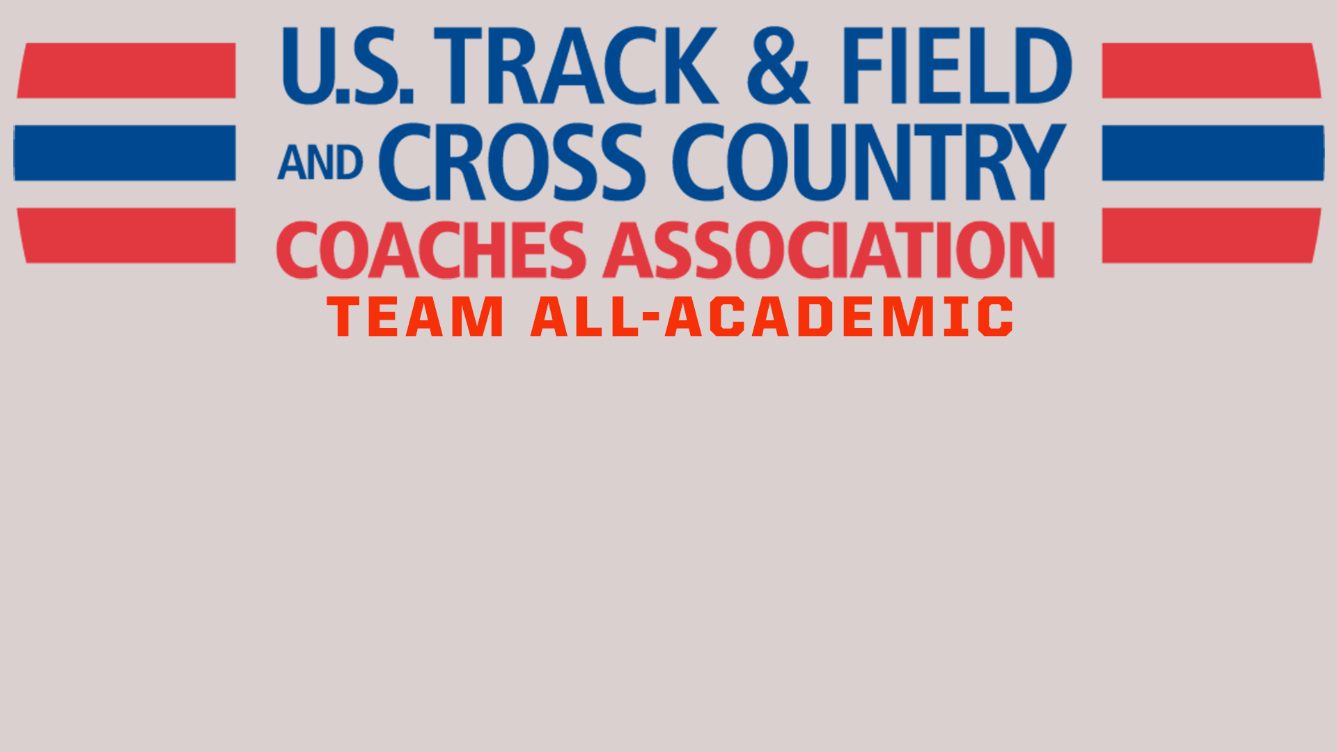 Goucher Men's And Women's Track And Field Squads Selected To The USTFCCCA All-Academic Teams