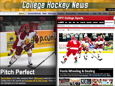 "FSU Hockey Earns ""Team Of The Week"" Honor"