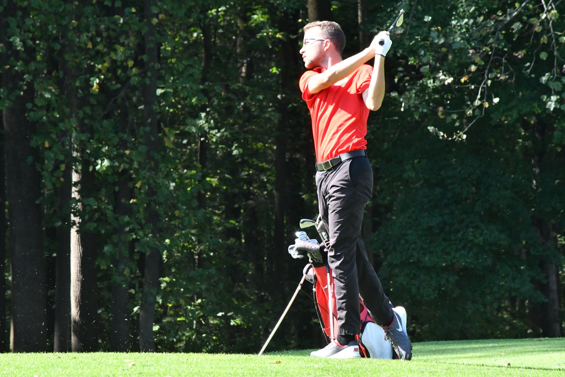 MEN'S GOLF IN TIE FOR FOURTH PLACE AFTER ROUND ONE OF NCAA D2 ATLANTIC/EAST SUPER REGIONAL