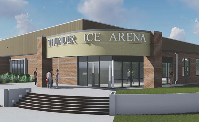 Sweetwater Pledges Major Gift Toward Thunder Ice Arena