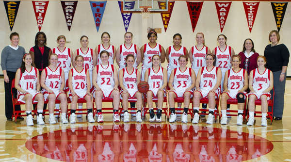 2010-11 Wittenberg Women's Basketball