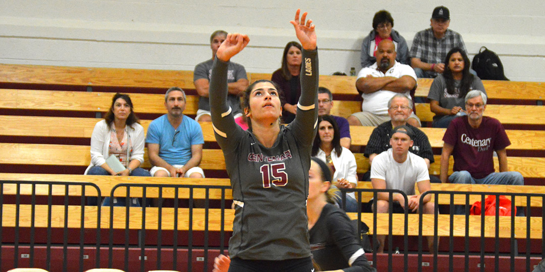 Demerjian Makes Ladies Volleyball History, Named SCAC Offensive Player of the Week