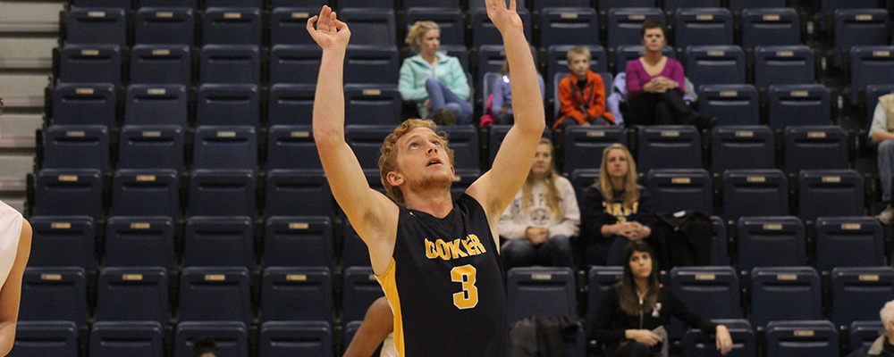 Coker Men's Volleyball Drops Match at Harvard