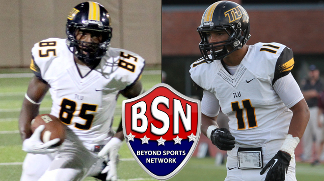 TLU's Peavy, Johnson Named BSN Athletes-of-the-Week