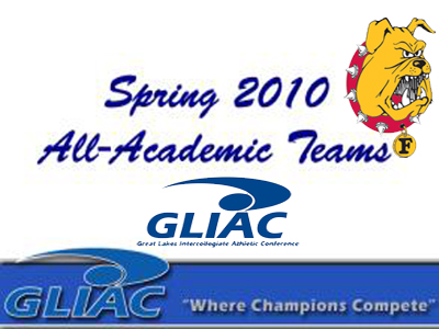 GLIAC Announces 2010 Spring All-Academic Teams
