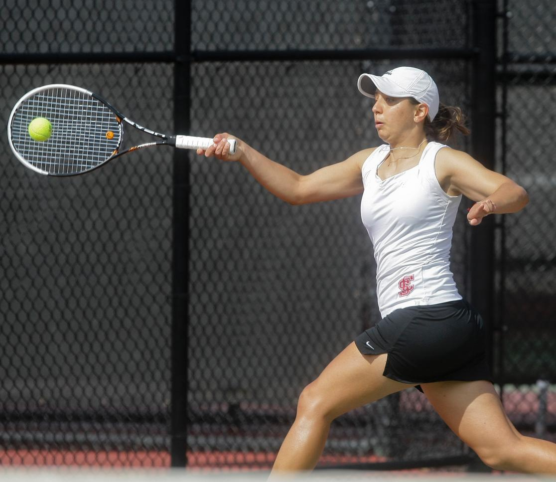 Women's Tennis Falls at Pepperdine, 6-1; Take on No. 20 Rice on Sunday