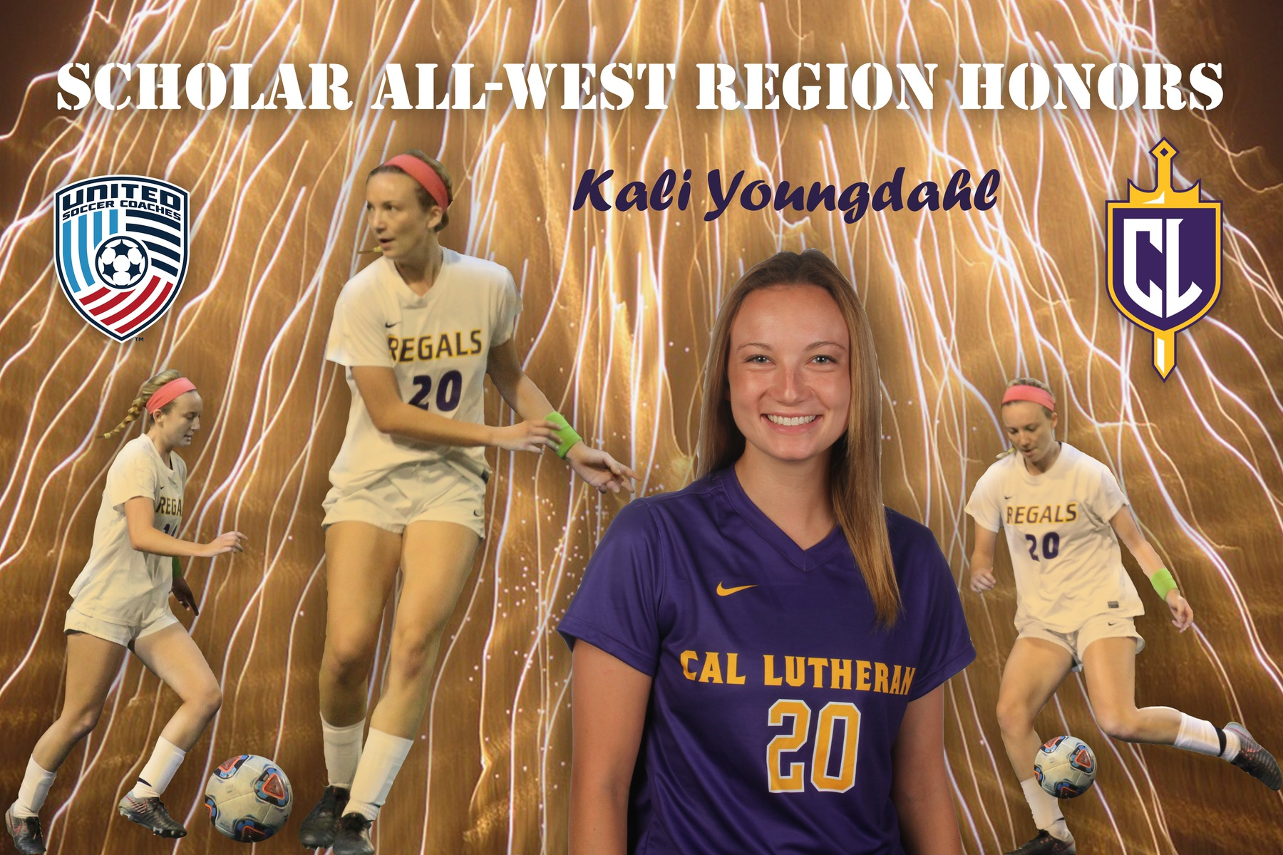 Youngdahl Earns Scholar All-West Region Honors