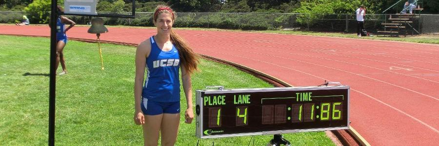 Former Track Star Grace Esslinger Wins Big West Sportsmanship Award