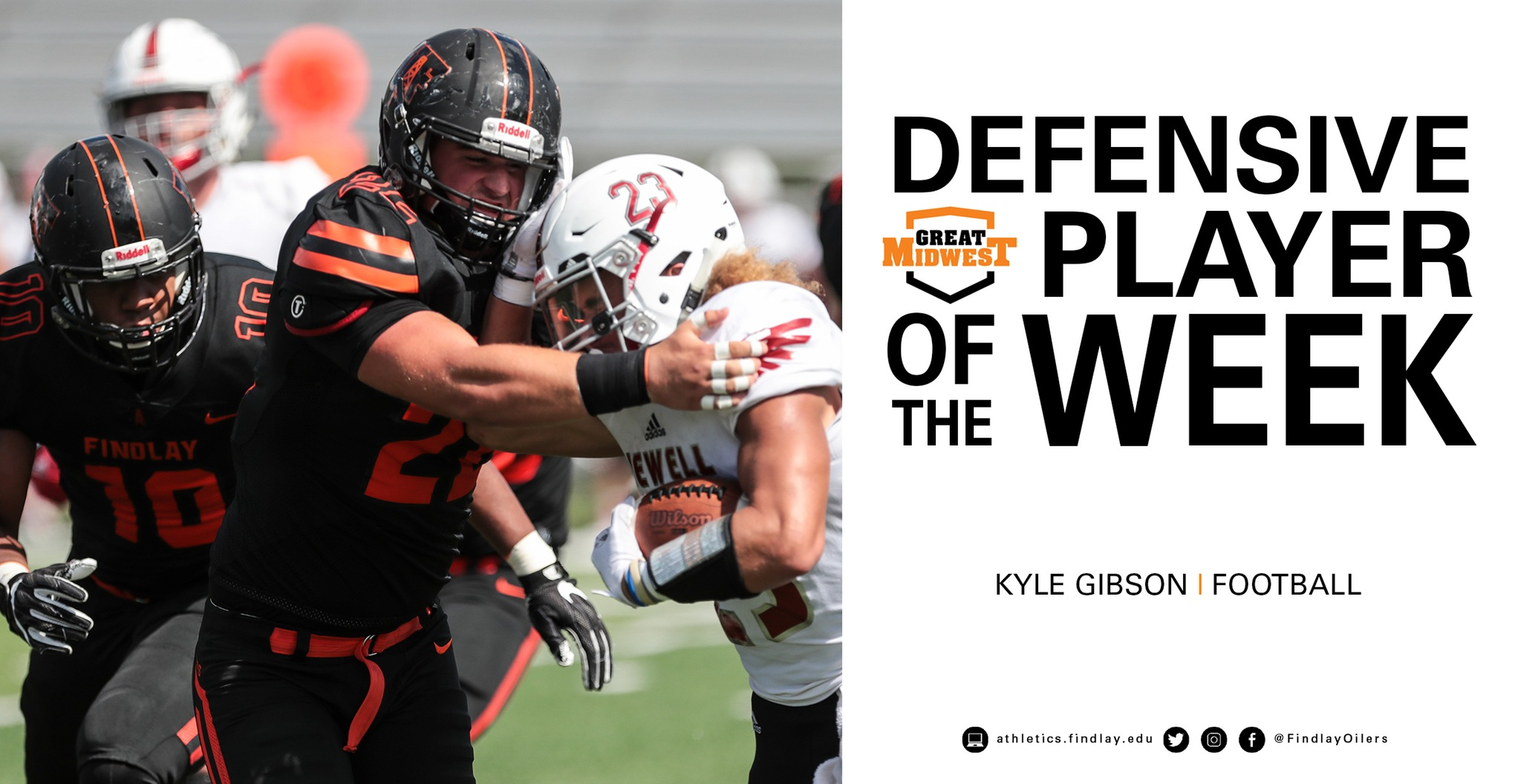 Kyle Gibson Named Defensive Player of the Week