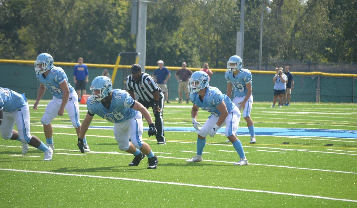 Westminster Football Drops Road Game at Greenville