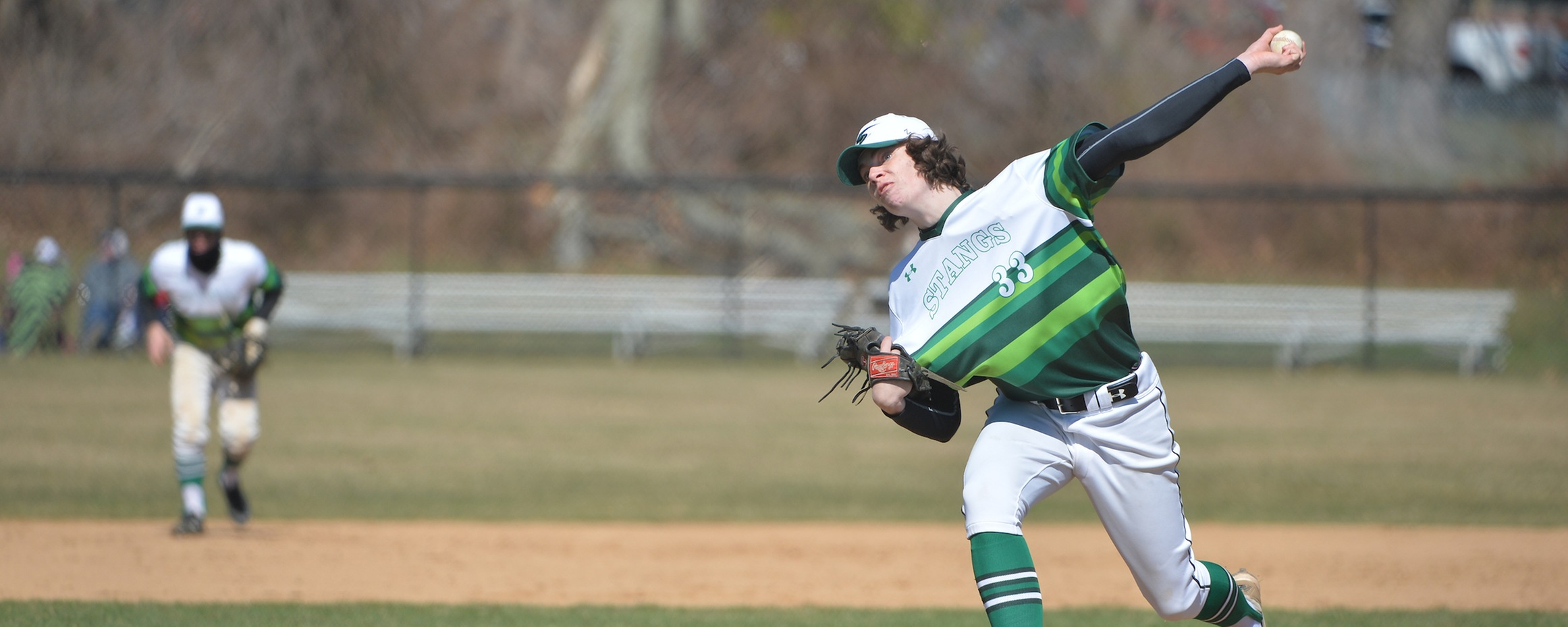 Wild Top Of The Eight Sinks Mustangs Against Immaculata
