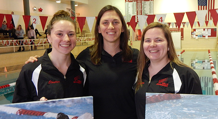 Senior Day Win For Women's Swimming