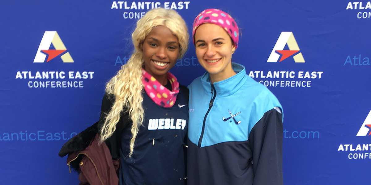Ngouendja, Quigley pick up Atlantic East Conference laurels