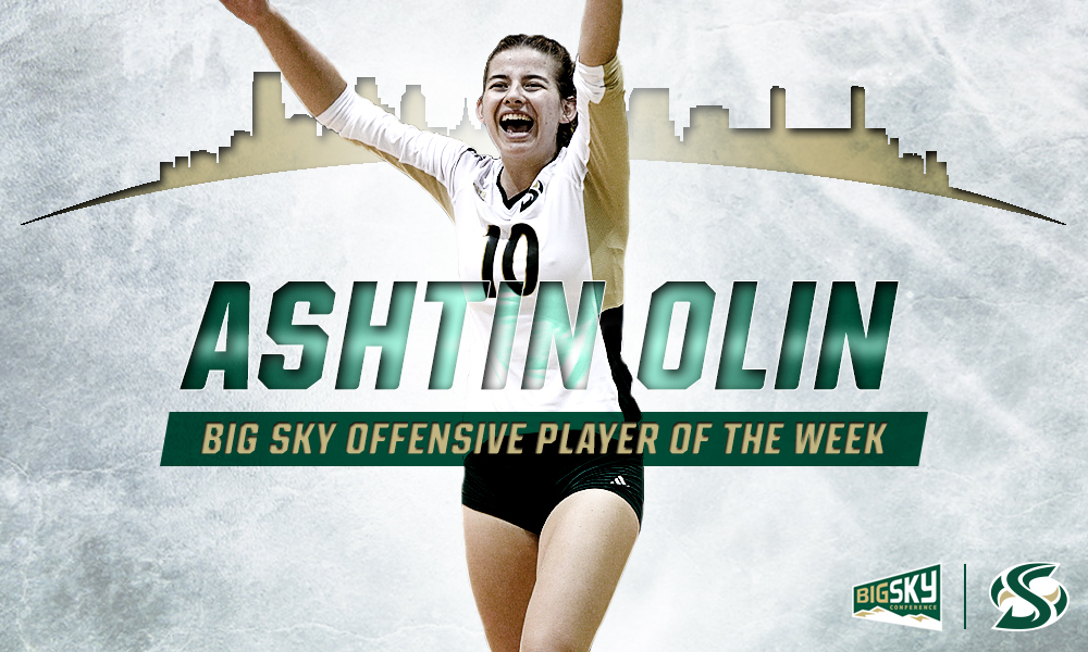 OLIN NAMED BIG SKY OFFENSIVE PLAYER OF THE WEEK