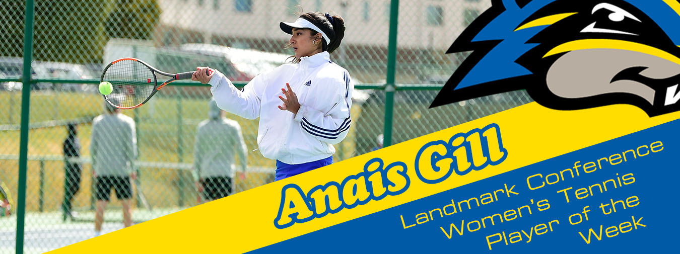 Anais Gill Claims Landmark Conference Women's Tennis Player Of The Week Honor
