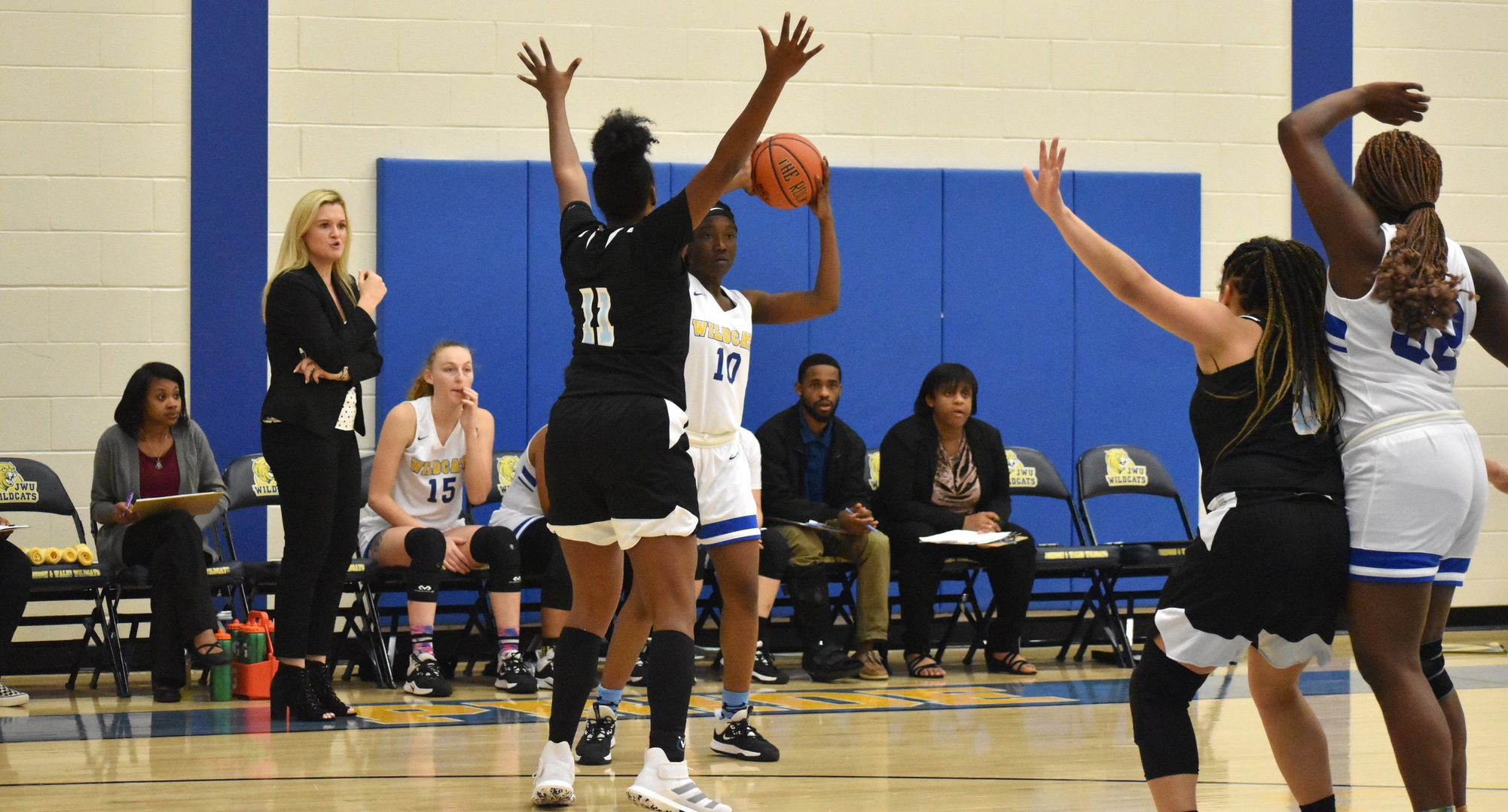 JWU Hits Record 13 Threes As Wildcats Dispatch Dragons