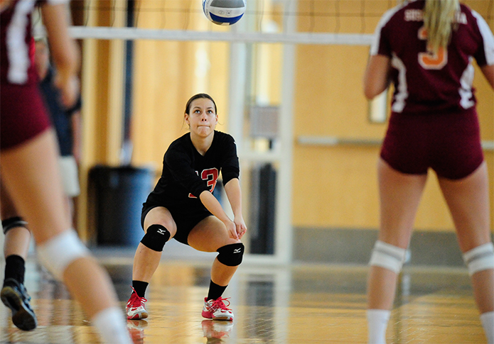 Volleyball splits at Widener