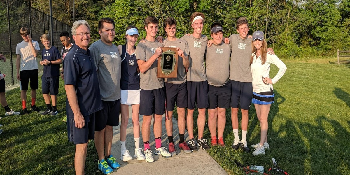 Varsity Tennis Earns C Conference Title