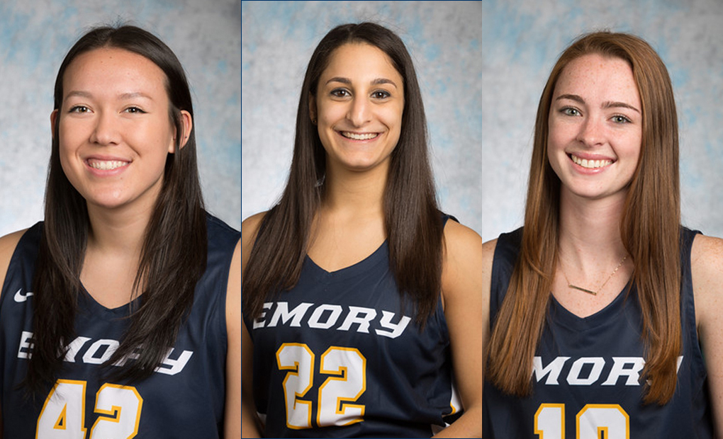 Emory Women's Basketball Lands Three On All-UAA Team
