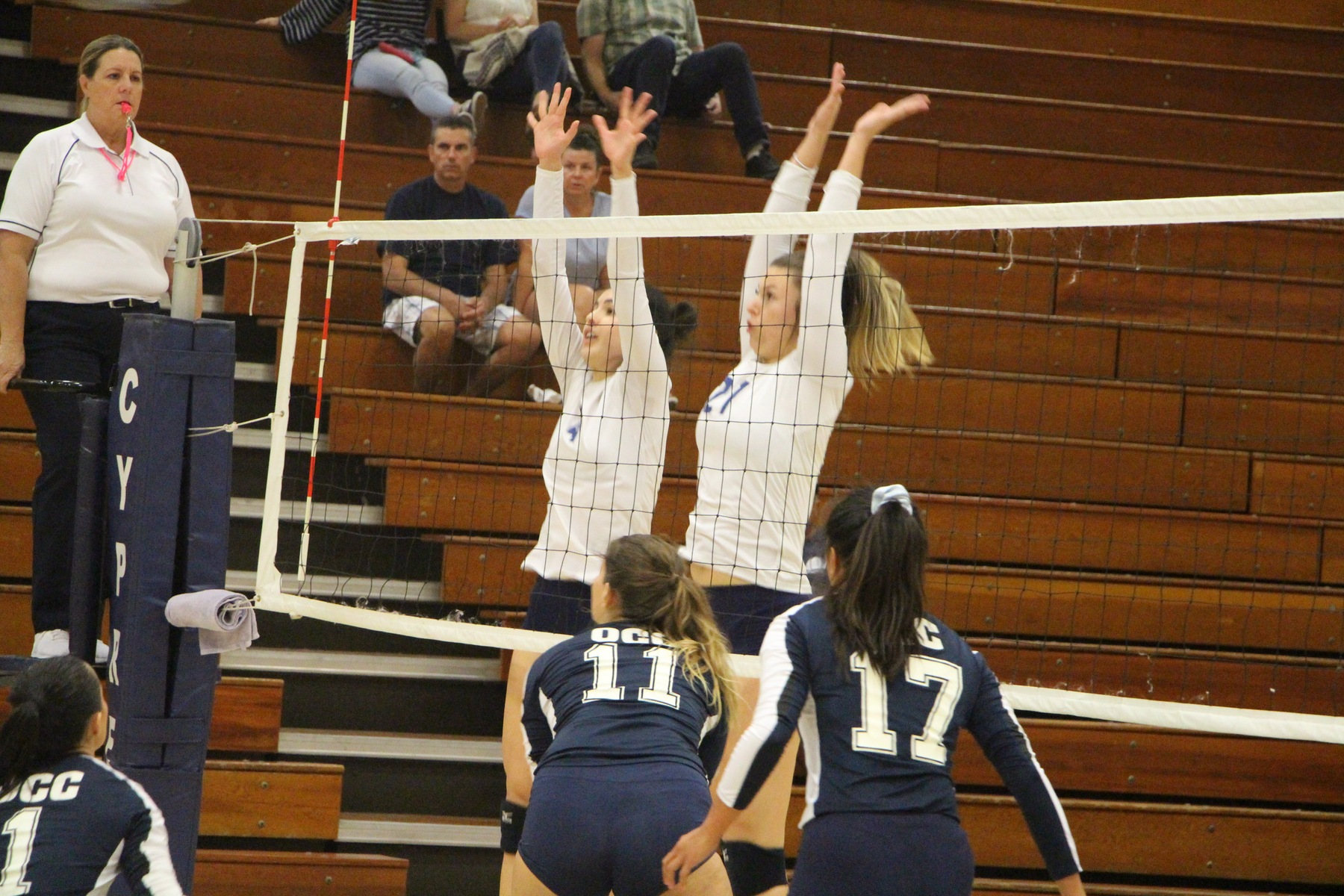 No. 18 Chargers Knock Off Tigers in Four Sets