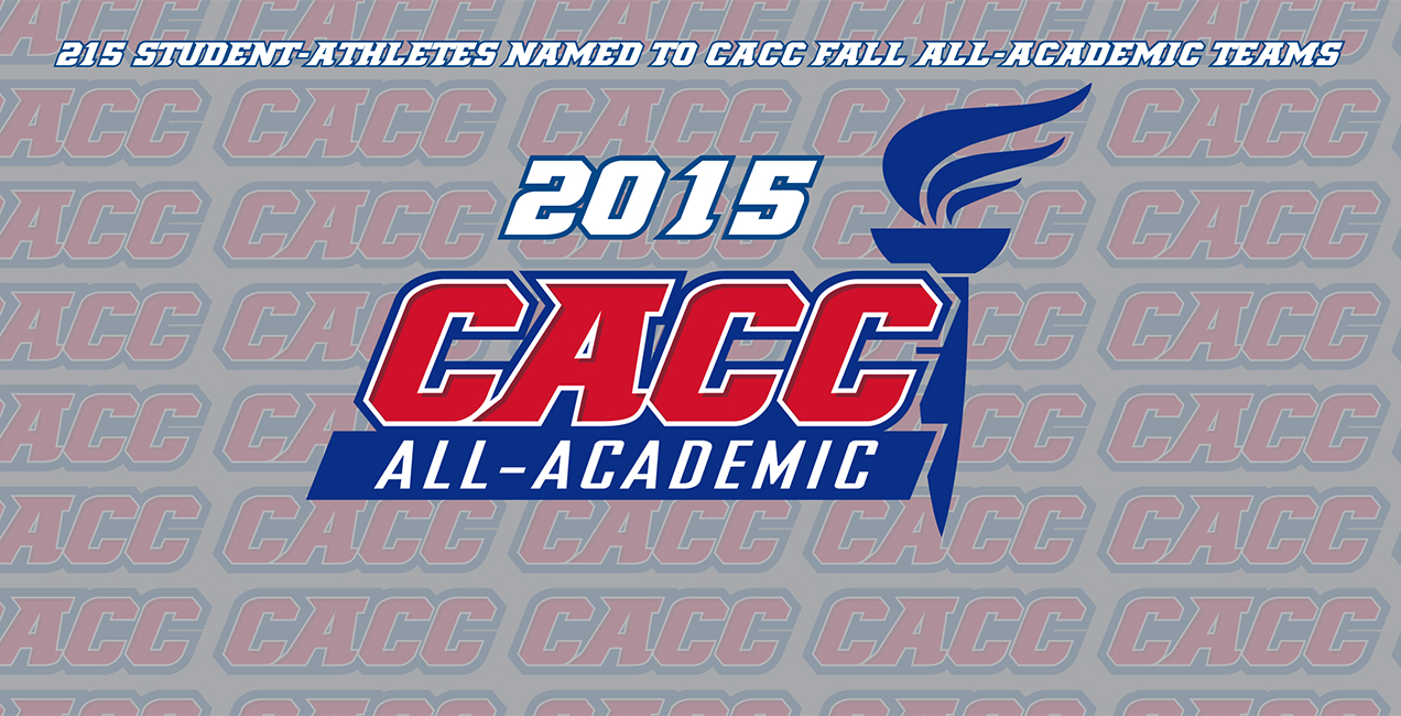 216 Student-Athletes Named to CACC Fall 2015 All-Academic Teams
