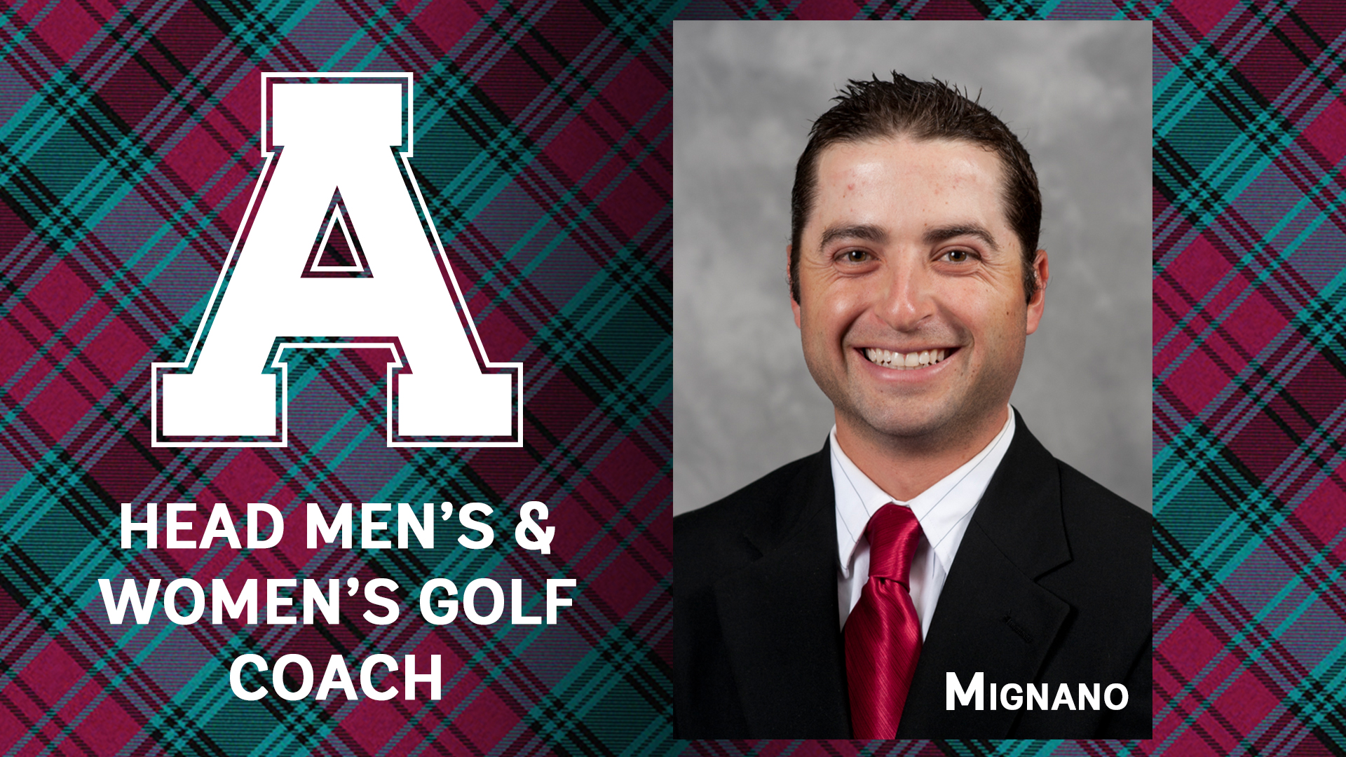 Scots Tab Mignano to Lead Golf Program