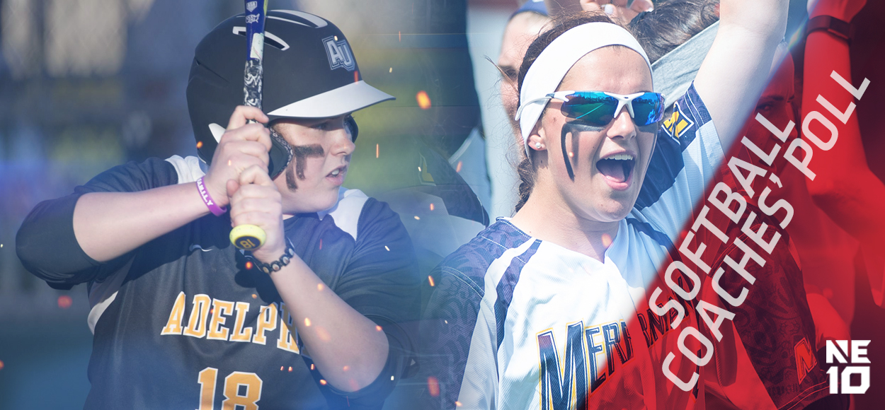 Adelphi and Merrimack Tabbed to Take Divisional Crowns in NE10 Softball