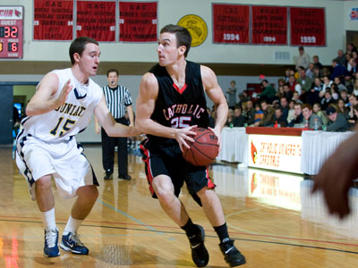 CUA earns win No. 20, spot in tournament semifinals