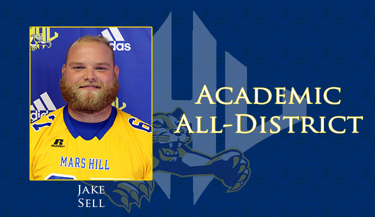 Jake Sell earns Academic All-District Super Region II honors