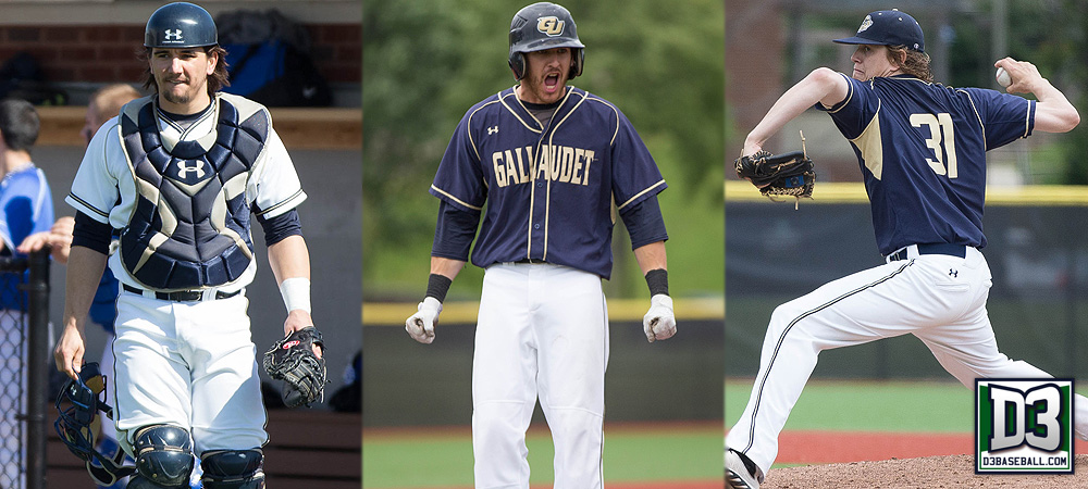Gallaudet places a program best three on D3baseball.com All-South region teams