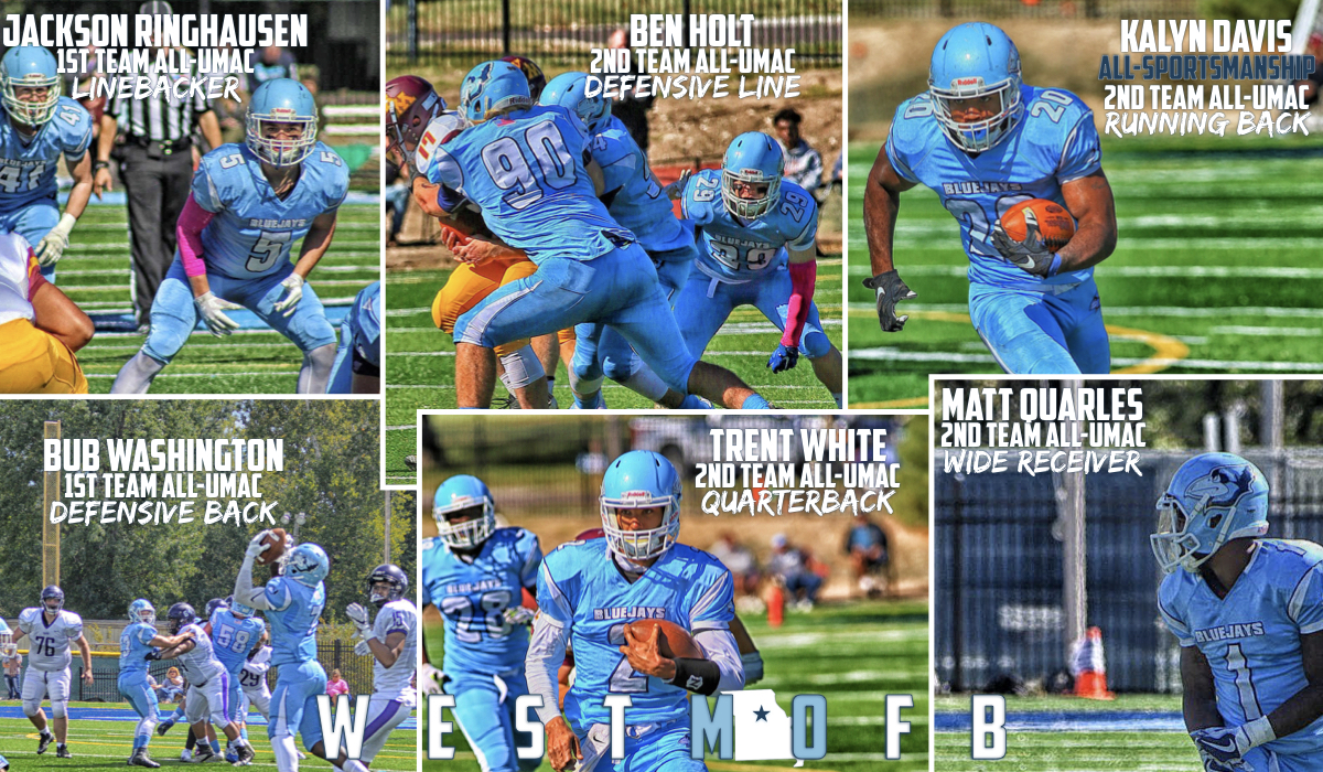 Westminster Football Places Six on All-Conference Teams