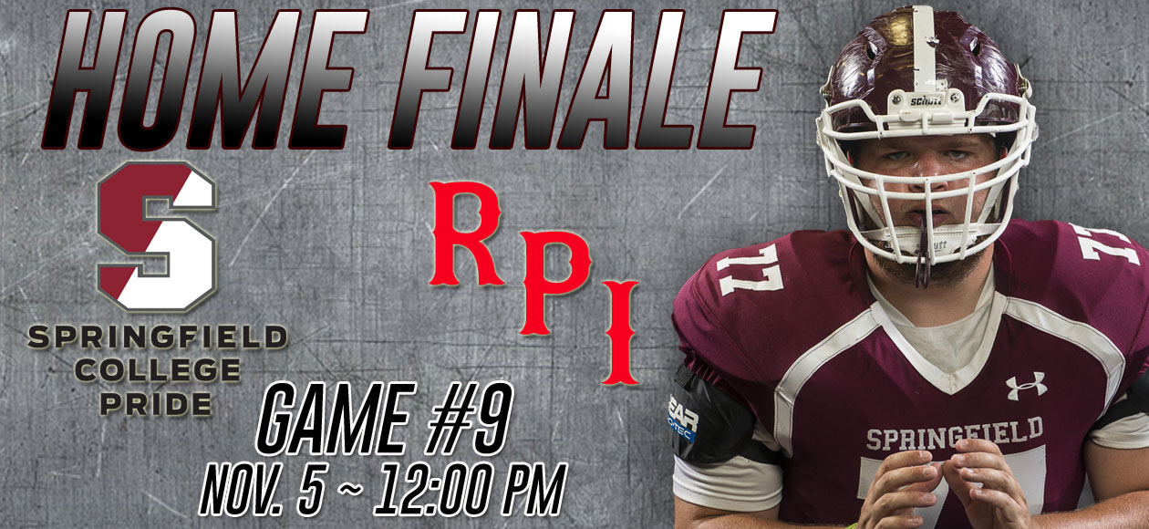 Football Hosts RPI In 2016 Home Finale on Saturday