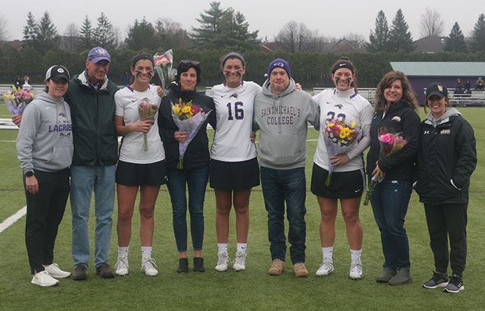 Women's Lacrosse Falls in Double Overtime to American International, 8-7
