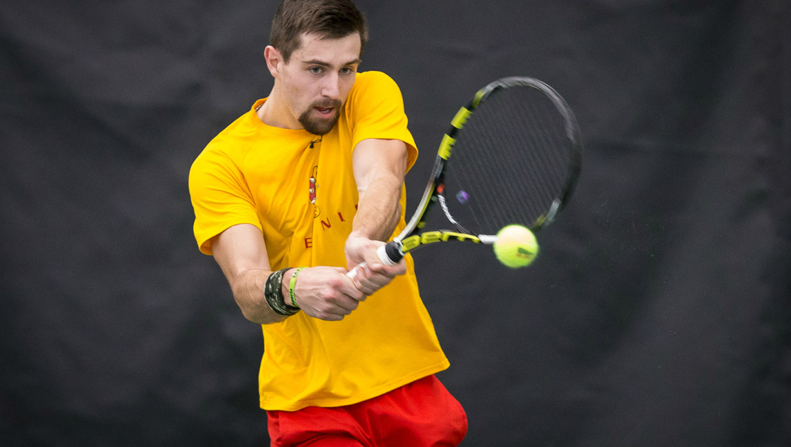 Ferris State Posts Decisive Men's Tennis Win Over Rockhurst In GLIAC/GLVC Crossover