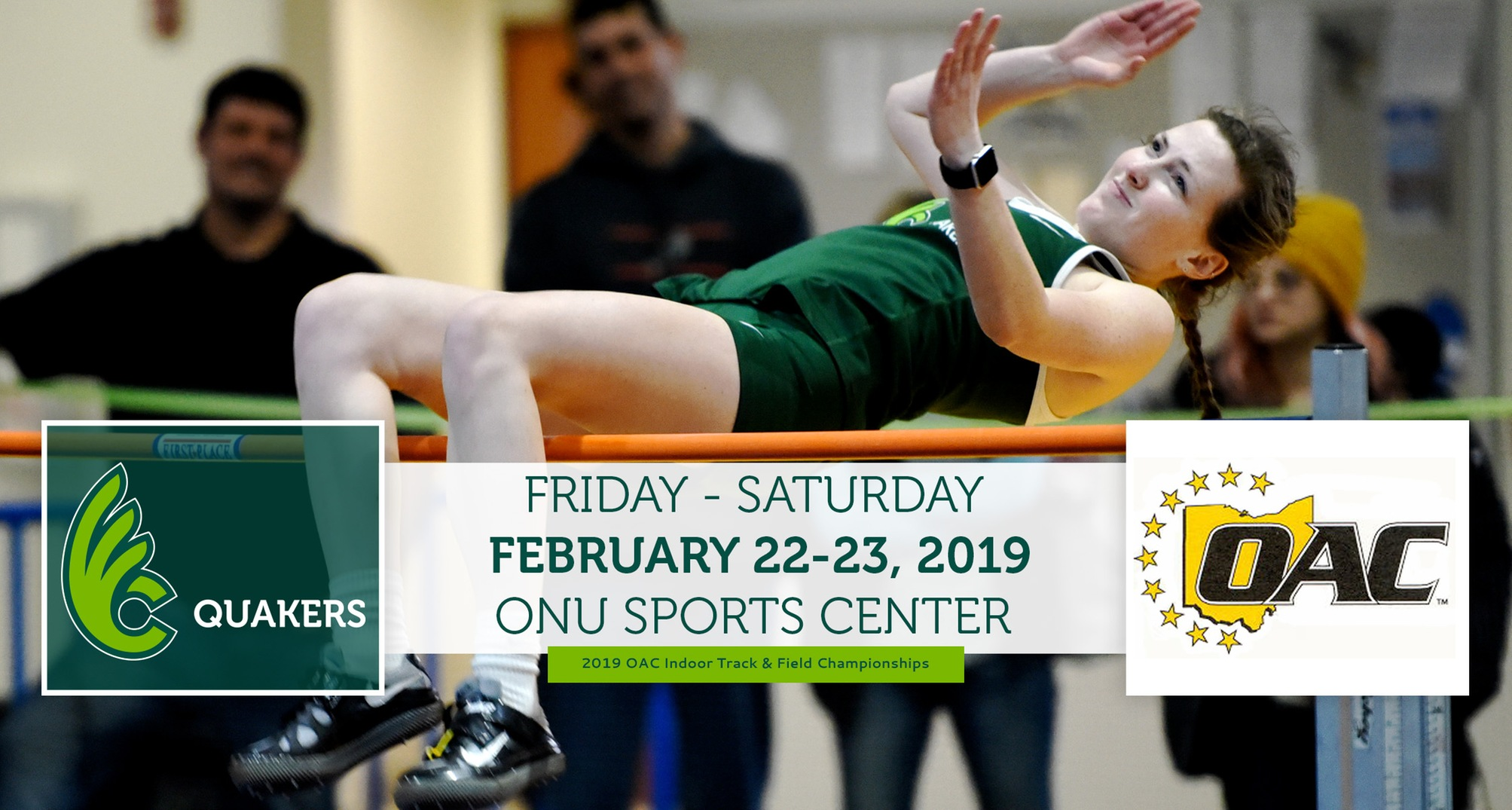 Women's Track & Field Heads to Ohio Northern for OAC Indoor Championships