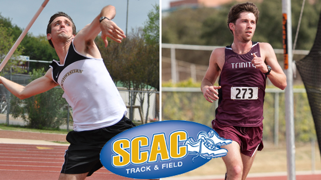 Southwestern's Poole, Trinity's Piske Named SCAC Men's Track and Field Athletes of the Week