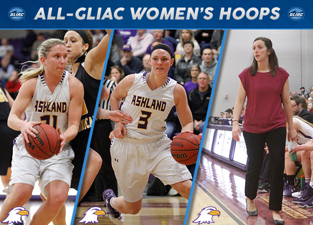 Ashland's Laina Snyder Selected GLIAC Women's Basketball Player of the Year; All-GLIAC Teams Announced