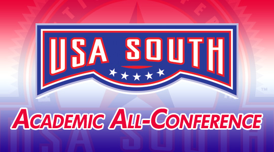 USA South Announces 2013 All-Academic Honorees