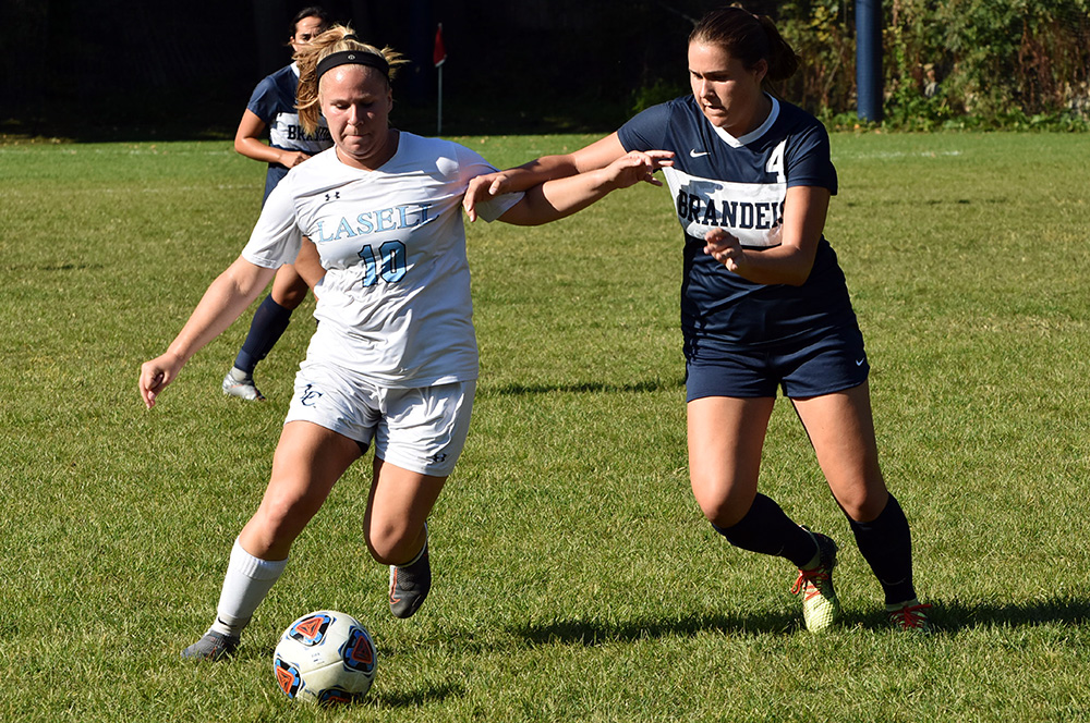 WSOC: Brandeis defeats Lasell in non-conference action