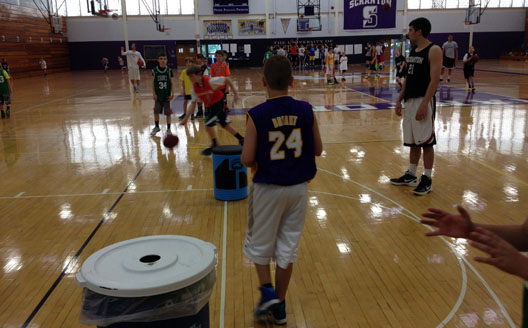 Men's Basketball Completes Successful Trio Of Summer Camps