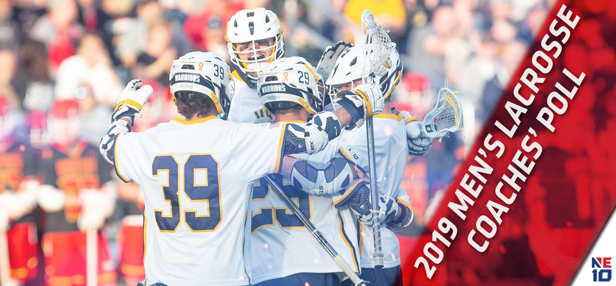 Merrimack Picked to Repeat as NE10 Men's Lacrosse Champion in Coaches' Poll