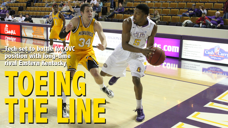 Golden Eagles back in Eblen Center for massive match-up with Eastern Kentucky