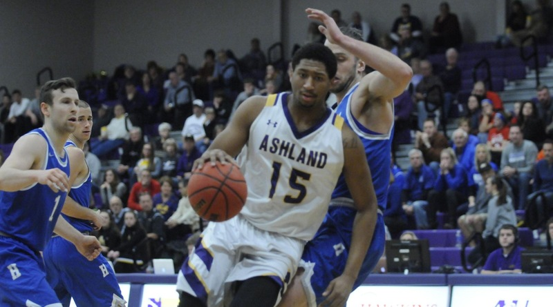 AU Men Halt Chargers' Second-Half Rally For Home Win