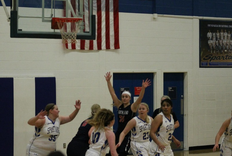 Lady Spartans Fall Against Rainy River