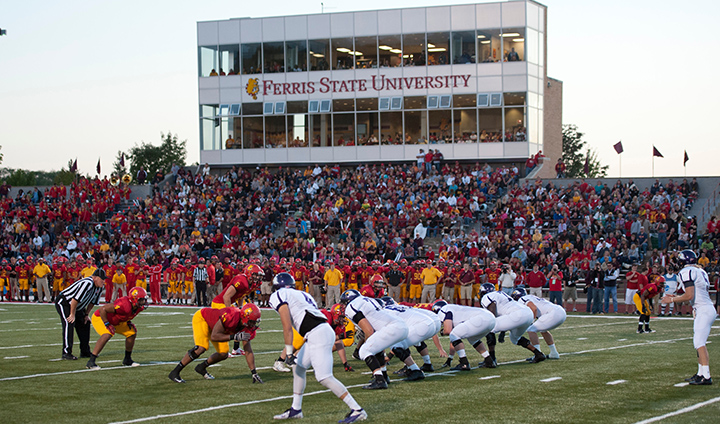 Ferris State Football Back At Home To Face Lake Erie This Saturday