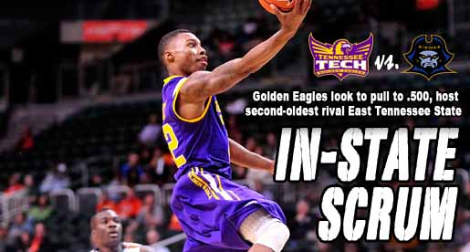 Golden Eagles open homestand with longtime rival East Tennessee State