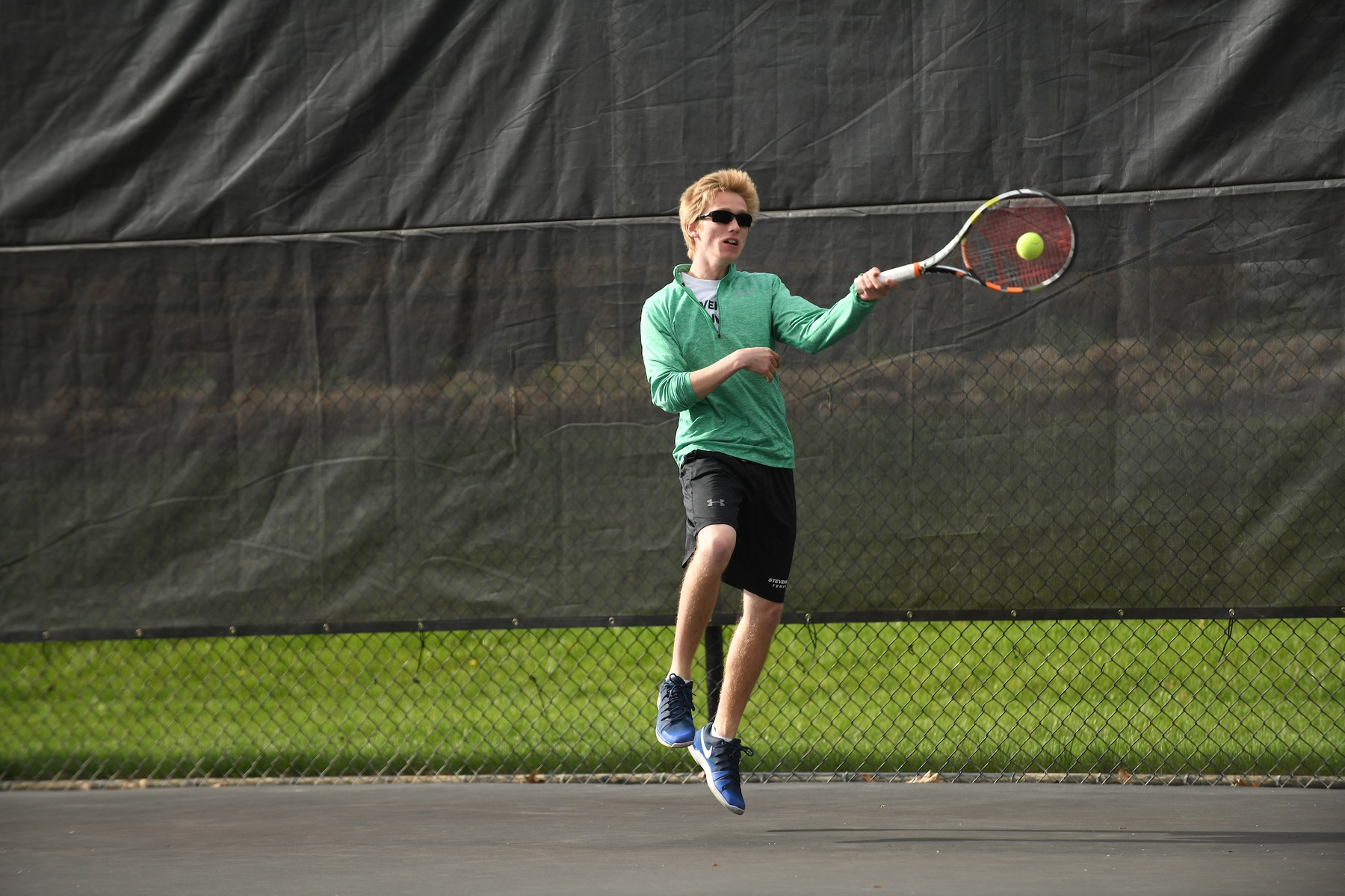 Men's Tennis Drops MAC Commonwealth Semifinal to Lebanon Valley, 5-4